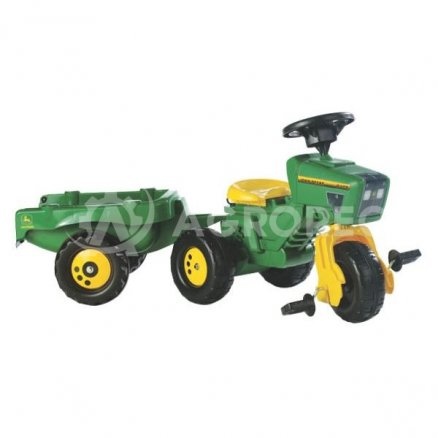 PedalesRemolque Años Deere 6 Juguetes Tractor 2 John rodCxeB